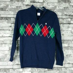 Izod Boy's Sweater Shirt  Sz Large 10/12